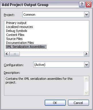 Generating XML Serialization Assemblies